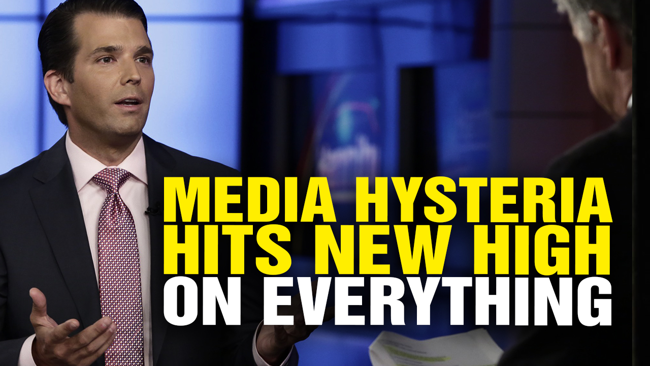 Media HYSTERIA Reaches New High over EVERYTHING Related to Trump (Video)